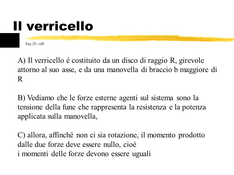 Il verricello Seq 28- cd6.