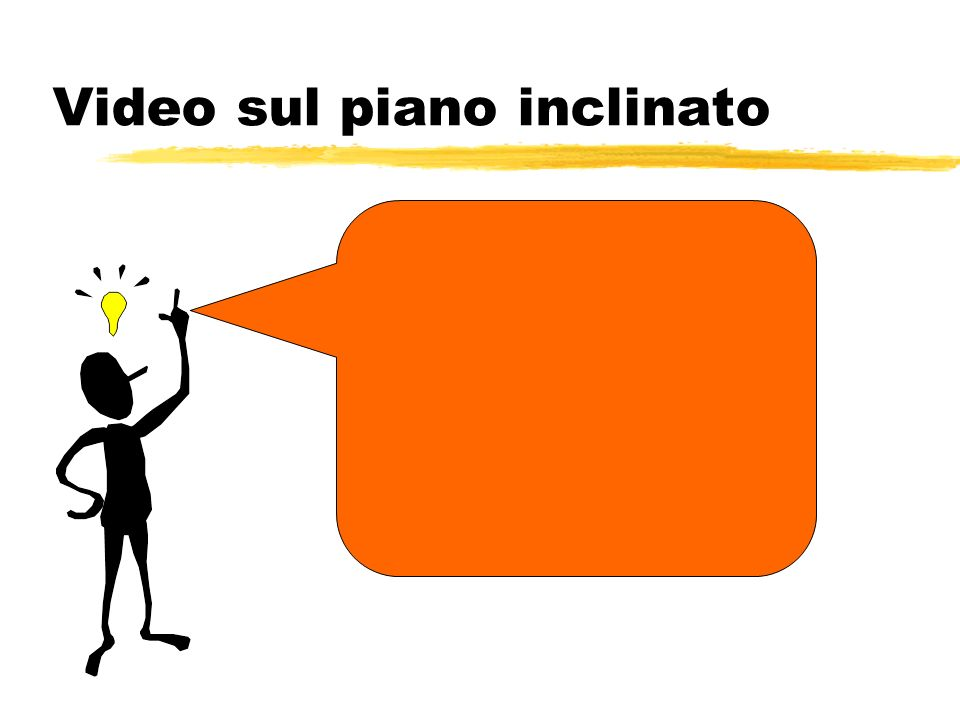 Video sul piano inclinato