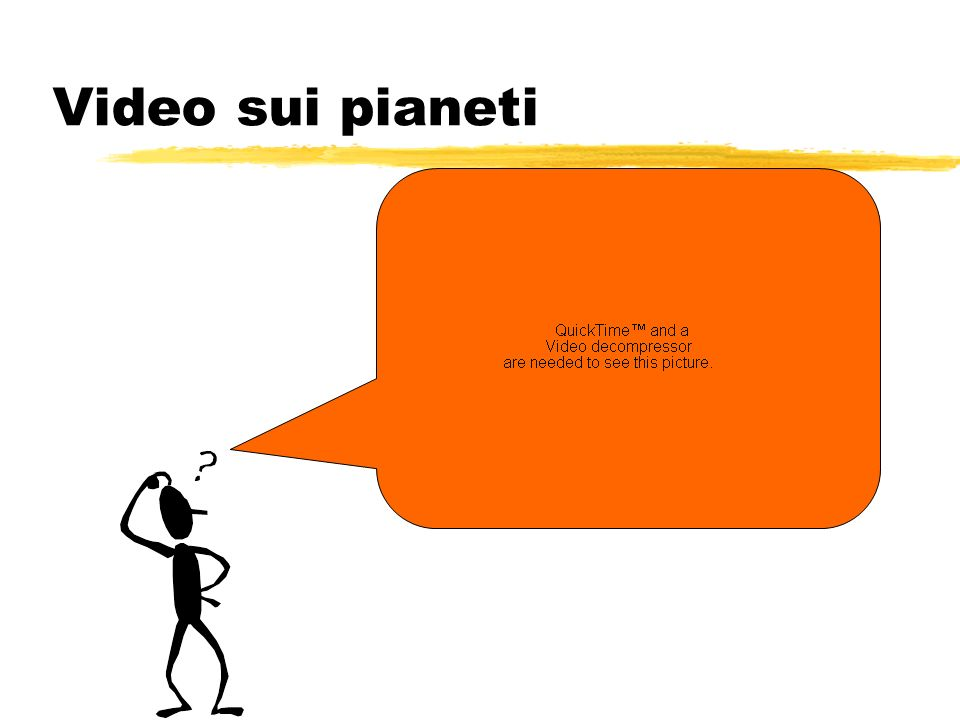 Video sui pianeti