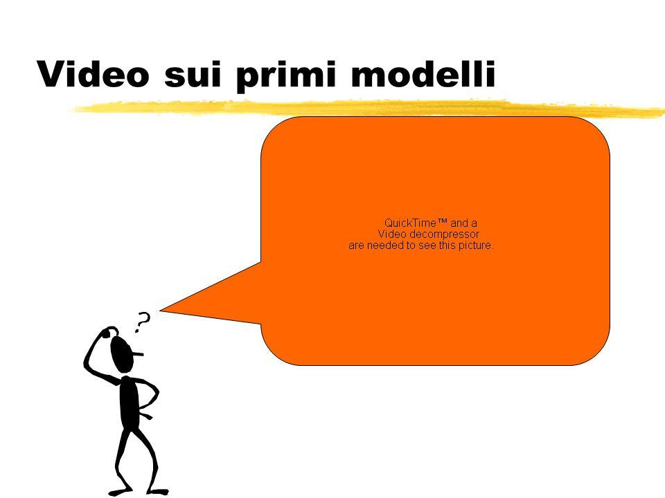 Video sui primi modelli