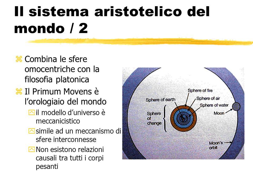 Il sistema aristotelico del mondo / 2
