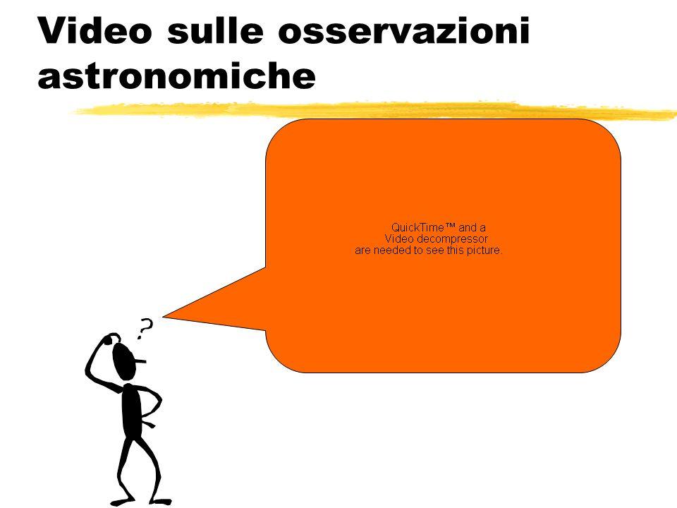 Video sulle osservazioni astronomiche