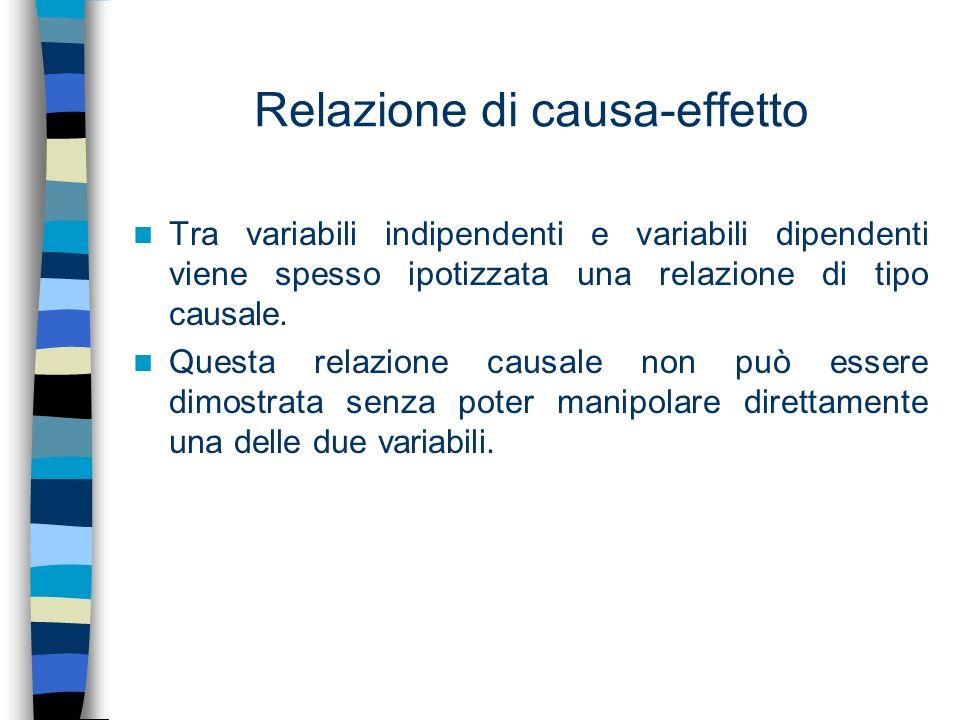 Relazione di causa-effetto