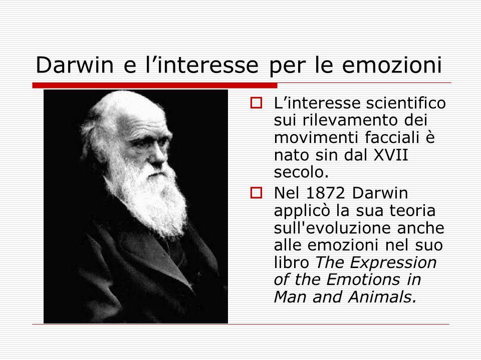 Darwin e l'interesse per le emozioni