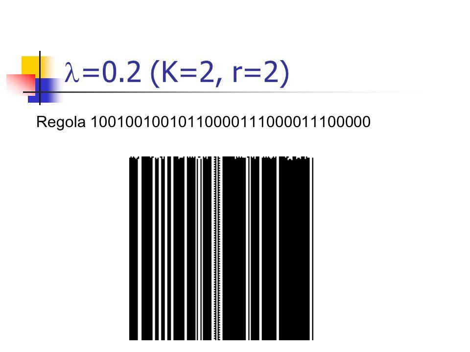 =0.2 (K=2, r=2) Regola 10010010010110000111000011100000