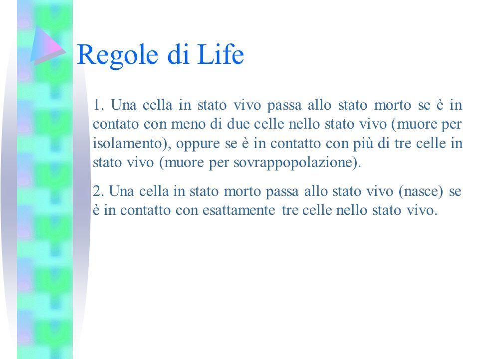 Regole di Life