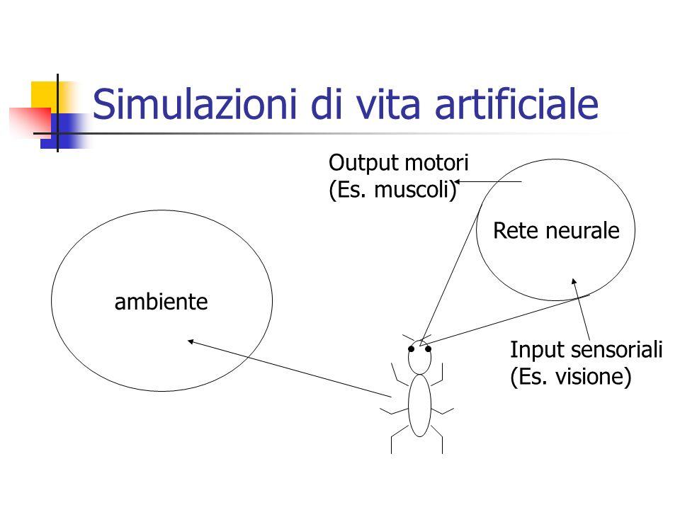 Simulazioni di vita artificiale