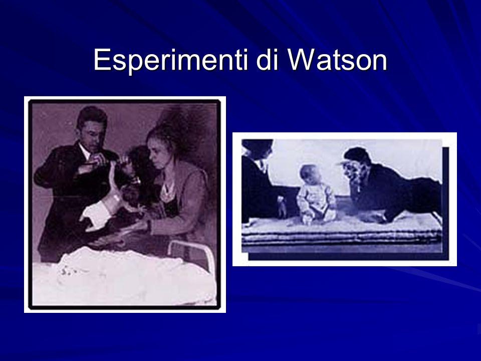 Esperimenti di Watson