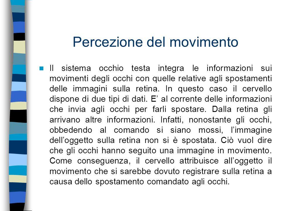 Percezione del movimento