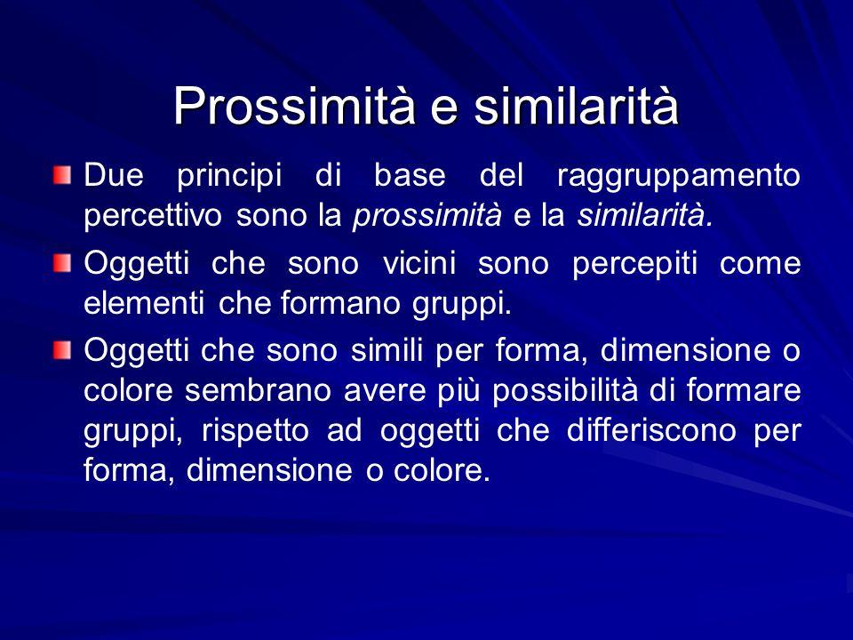 Prossimità e similarità