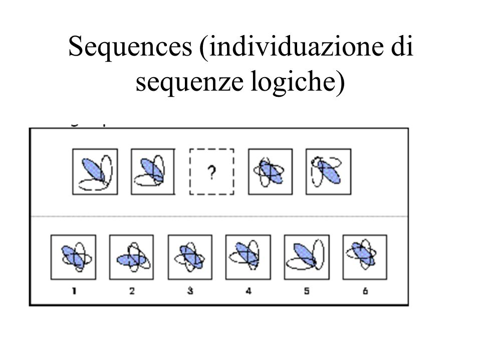 Sequences (individuazione di sequenze logiche)