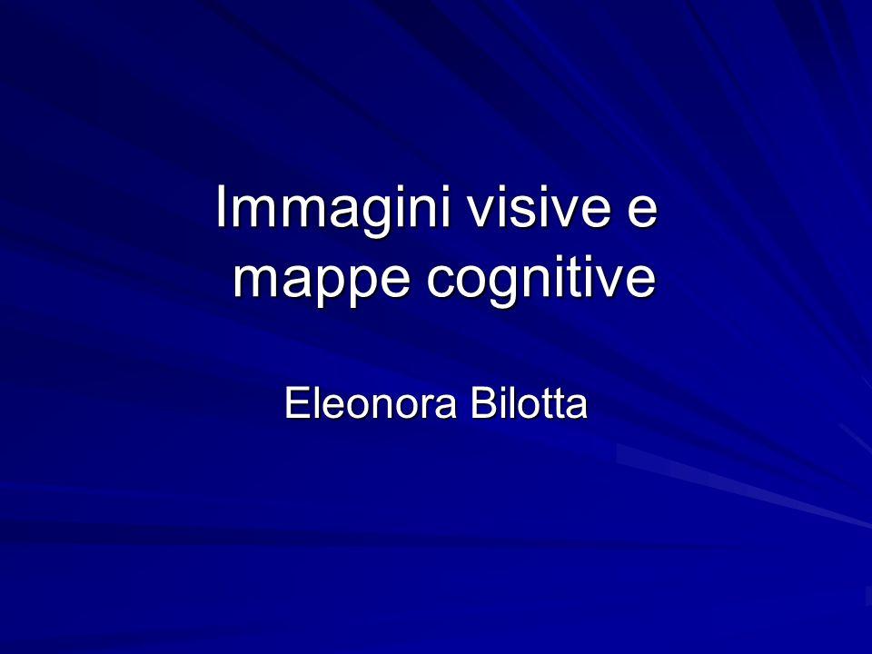 Immagini visive e mappe cognitive