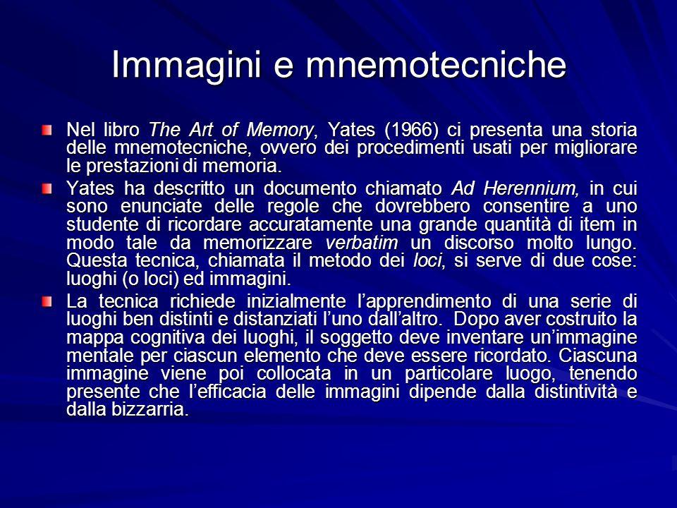 Immagini e mnemotecniche