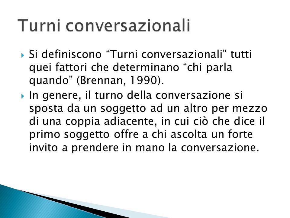 Turni conversazionali