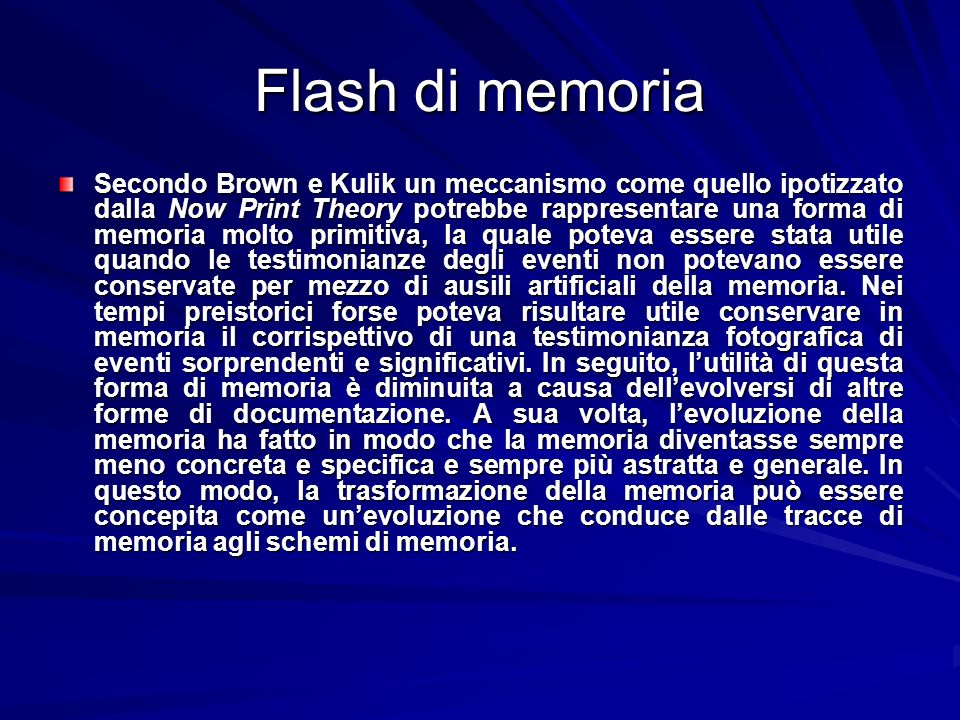 Flash di memoria