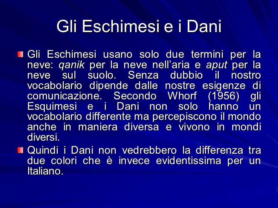 Gli Eschimesi e i Dani