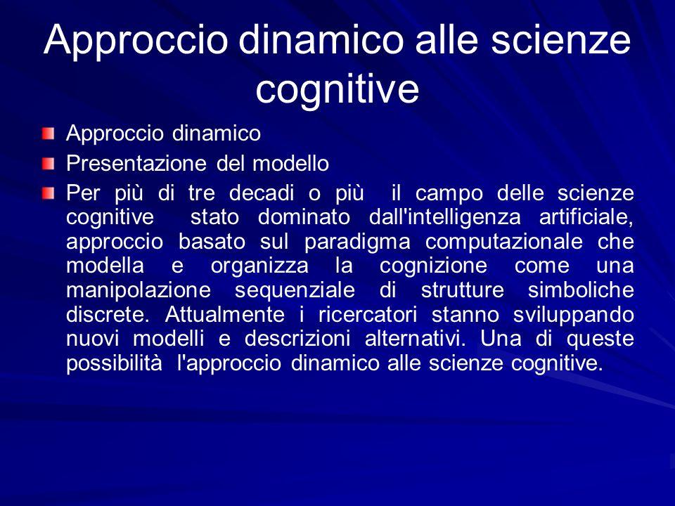 Approccio dinamico alle scienze cognitive