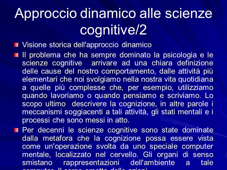 Approccio dinamico alle scienze cognitive/2