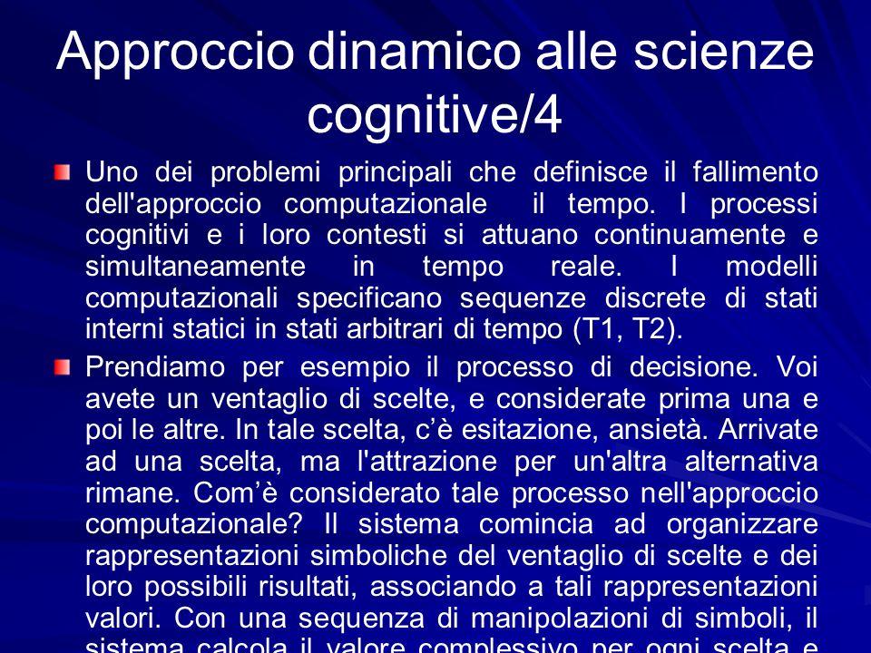 Approccio dinamico alle scienze cognitive/4