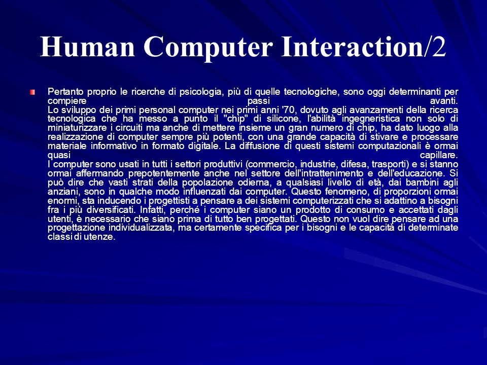 Human Computer Interaction/2