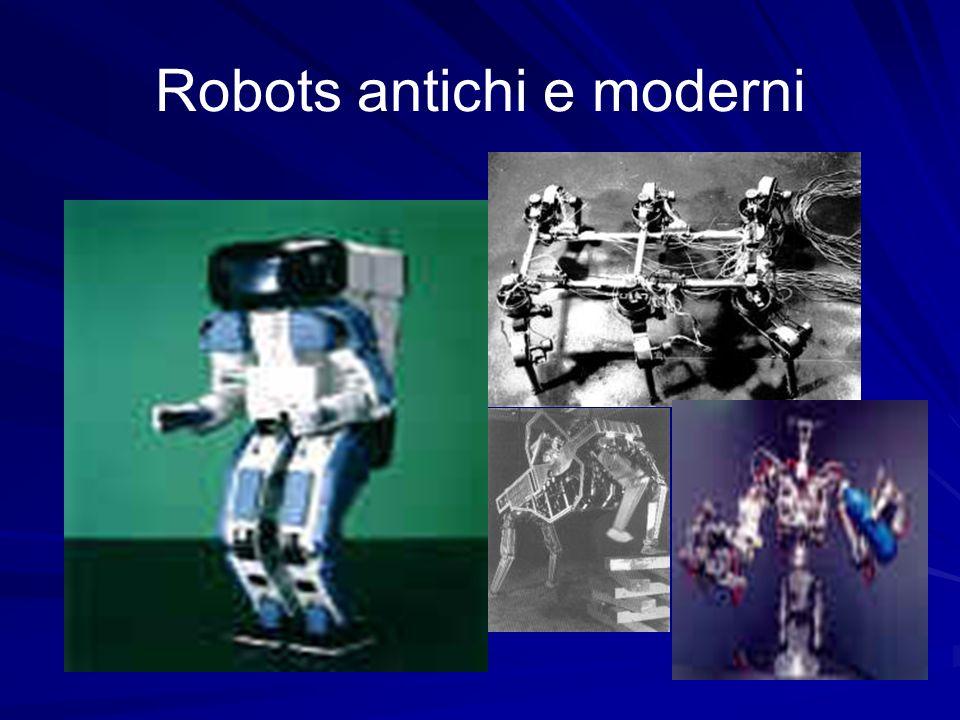 Robots antichi e moderni