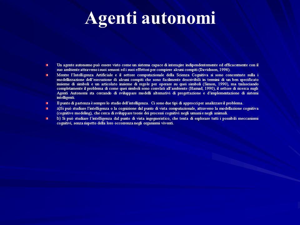 Agenti autonomi