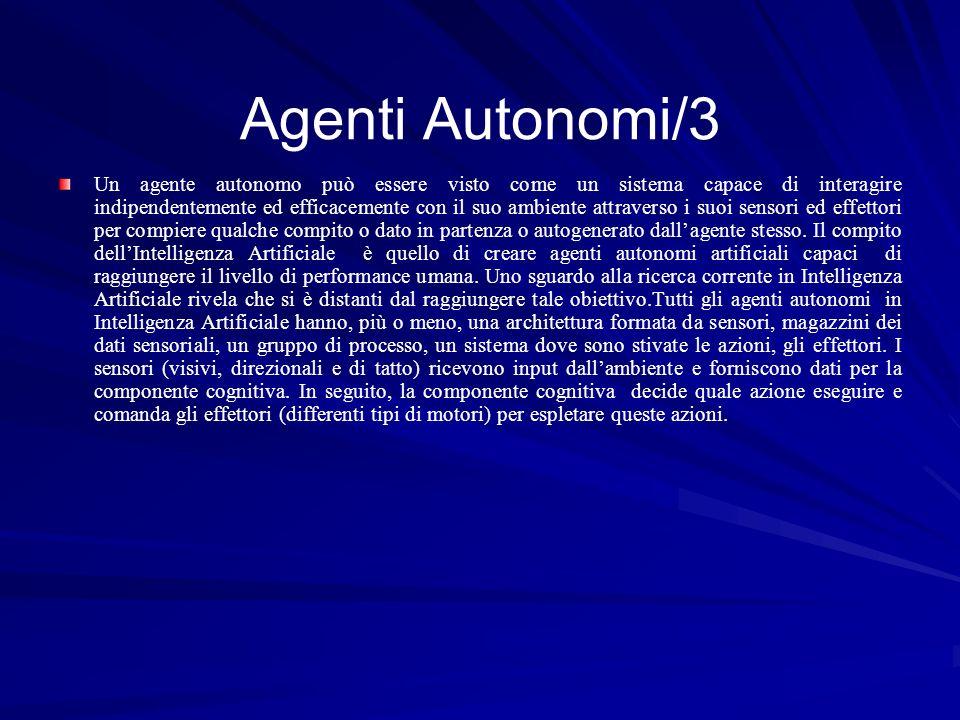 Agenti Autonomi/3