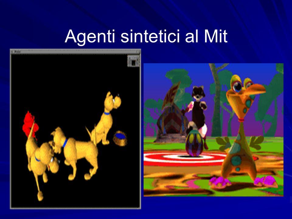 Agenti sintetici al Mit