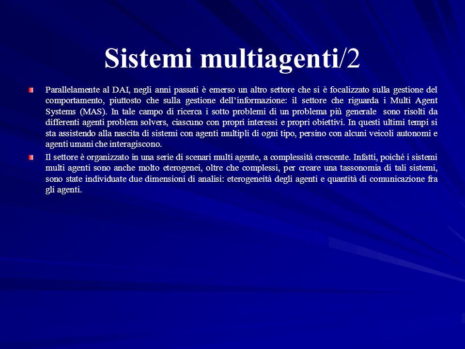 Sistemi multiagenti/2