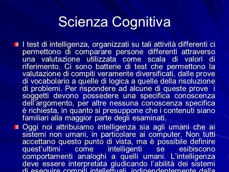 Scienza Cognitiva