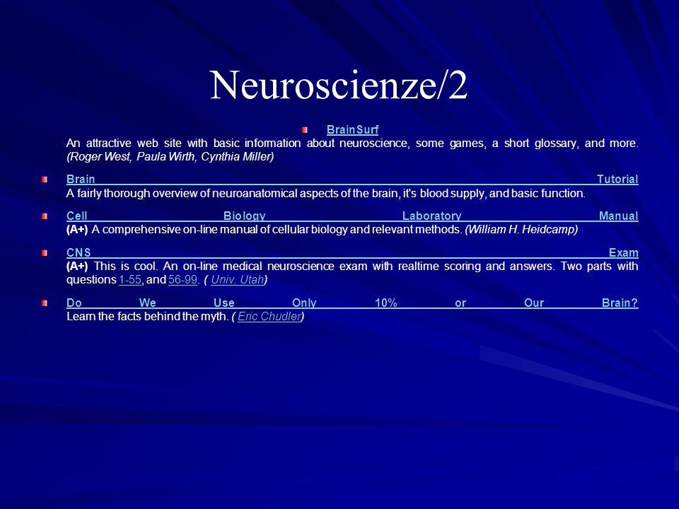 Neuroscienze/2