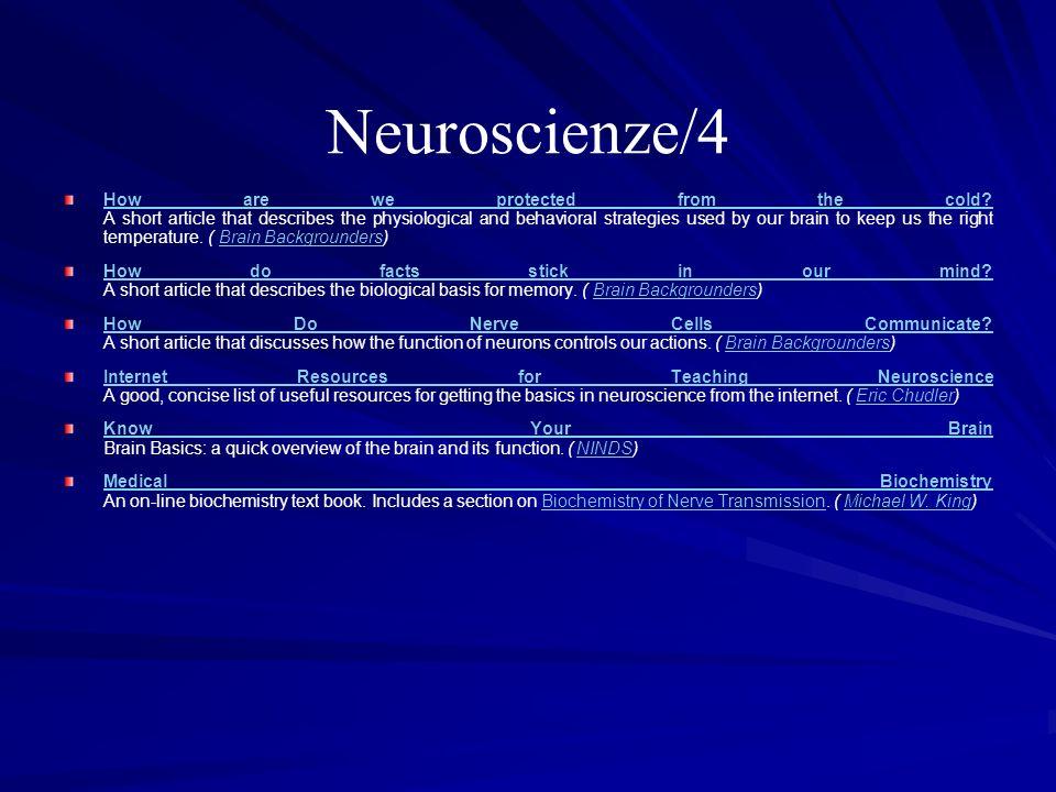 Neuroscienze/4