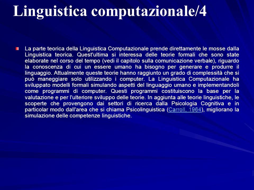 Linguistica computazionale/4