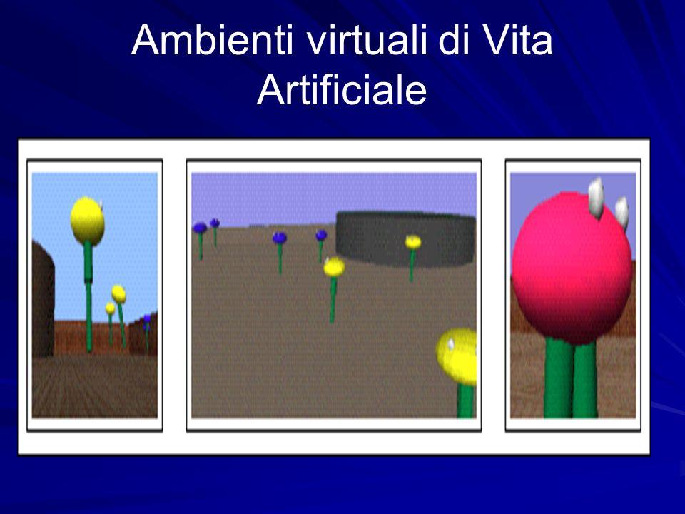 Ambienti virtuali di Vita Artificiale