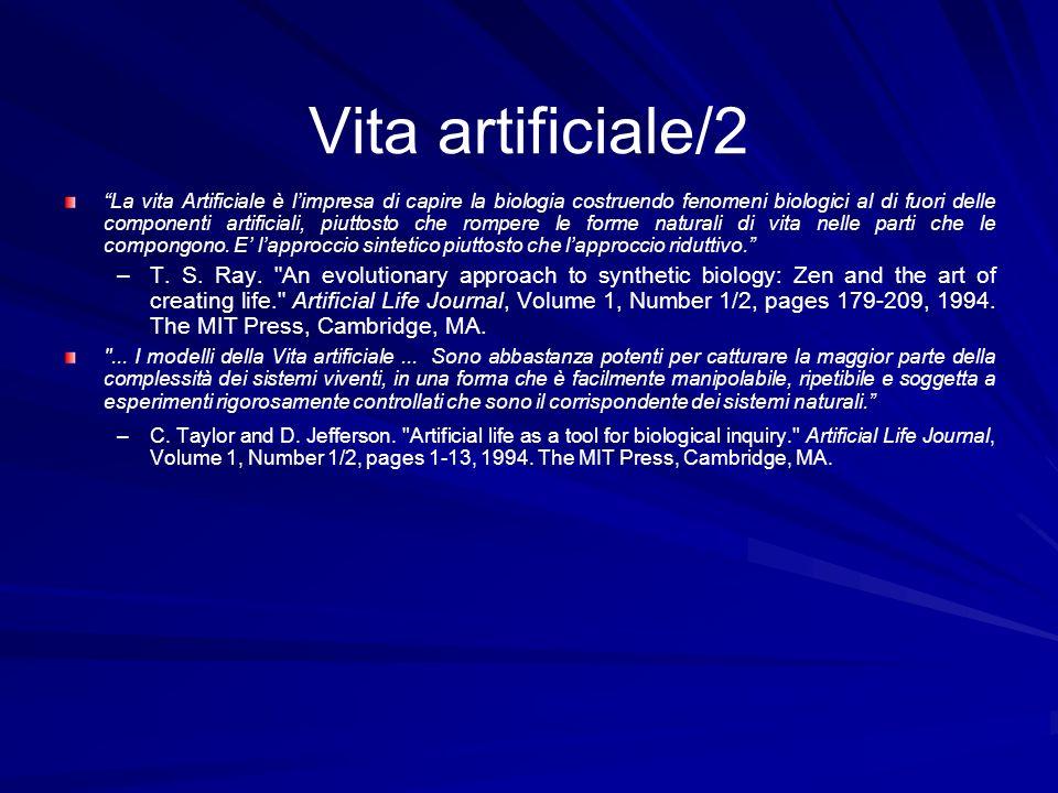 Vita artificiale/2