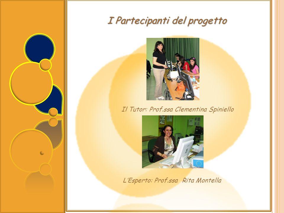 I Partecipanti del progetto