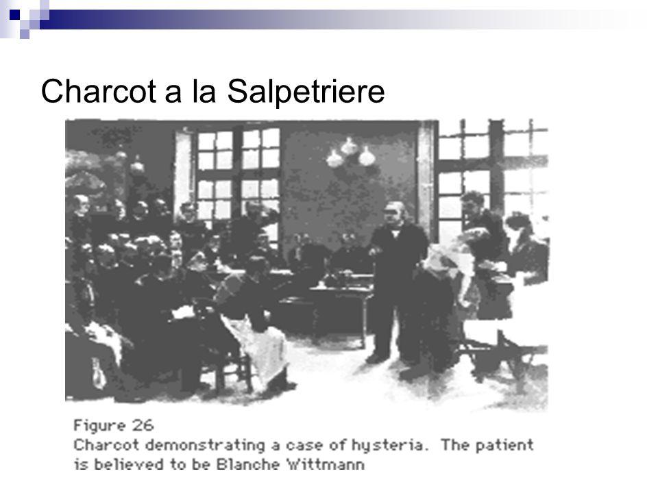 Charcot a la Salpetriere
