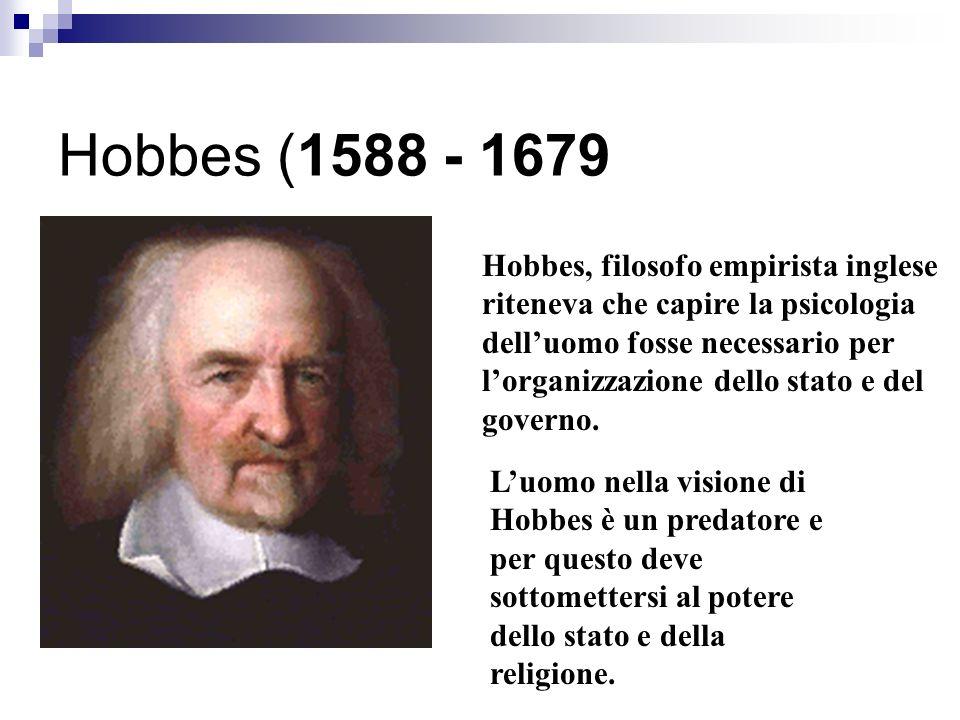 Hobbes (1588 - 1679
