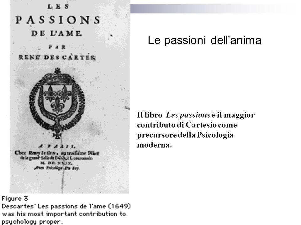 Le passioni dell'anima