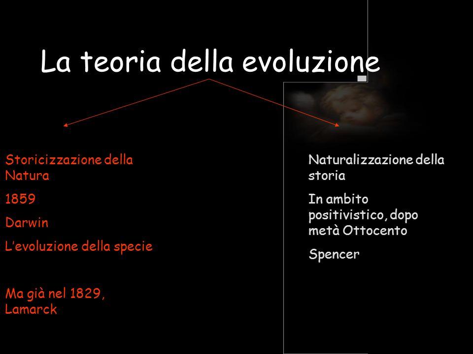 La teoria della evoluzione