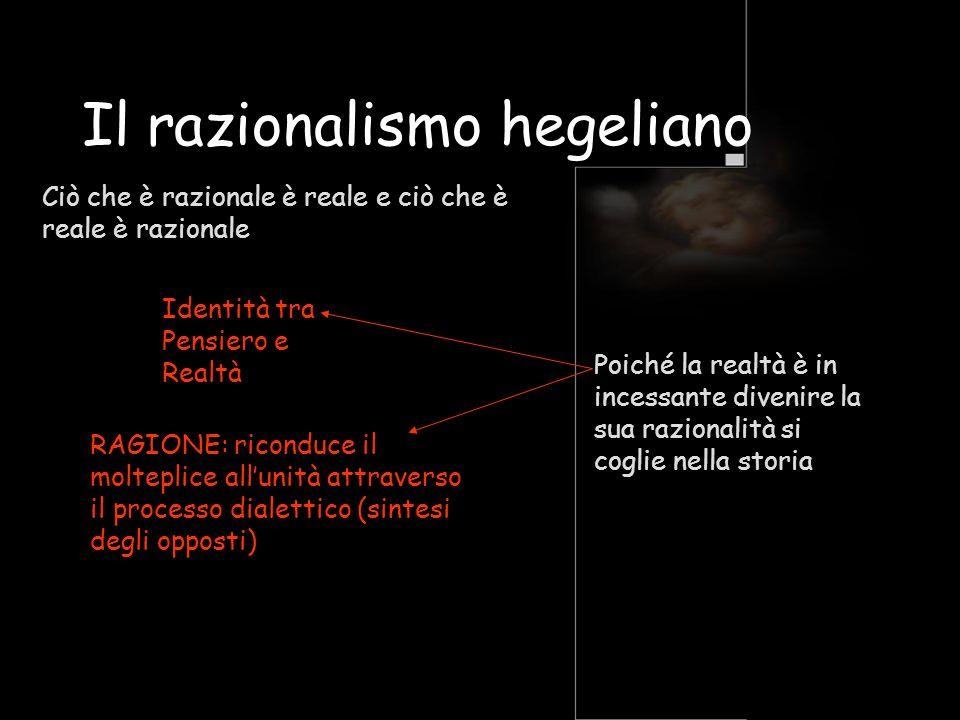 Il razionalismo hegeliano