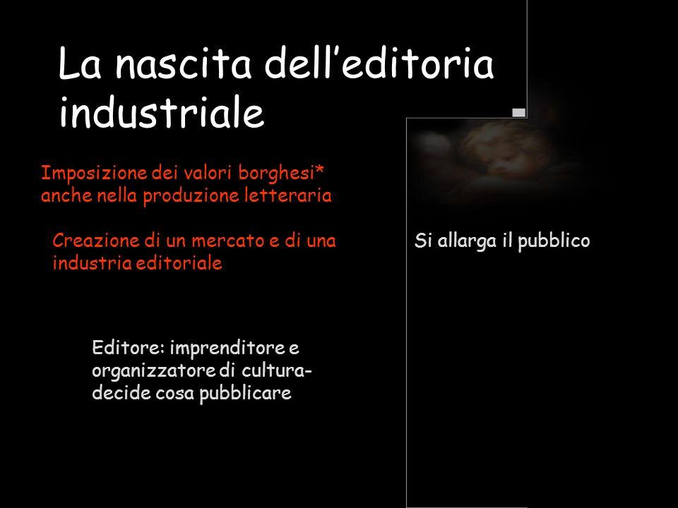 La nascita dell'editoria industriale