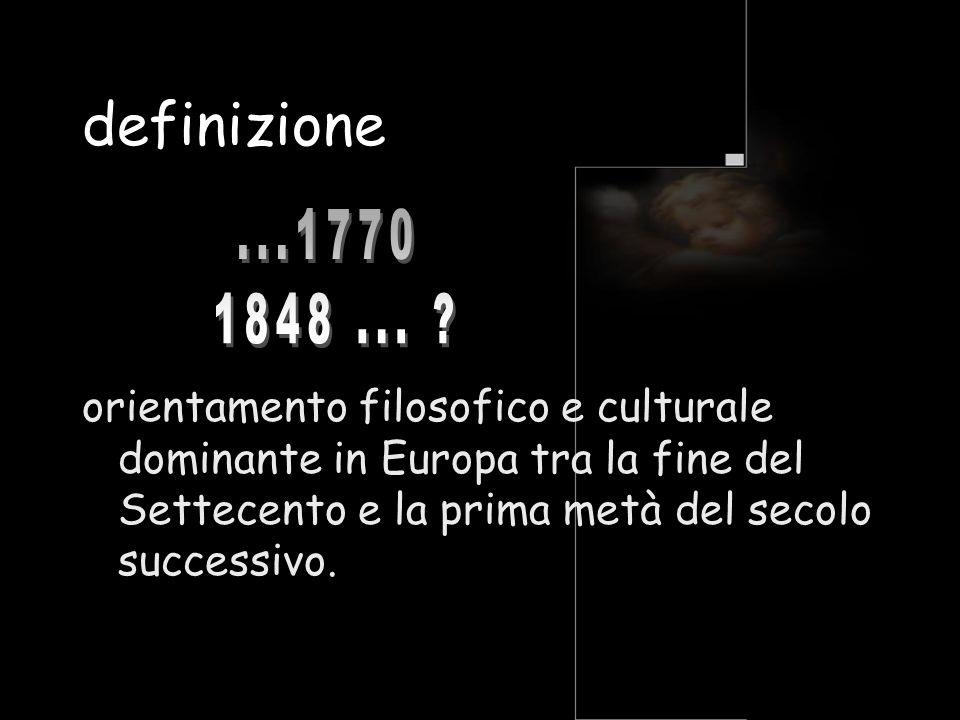 definizione ...1770. 1848 ...