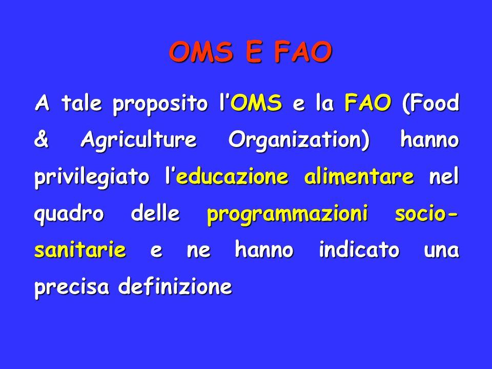 OMS E FAO