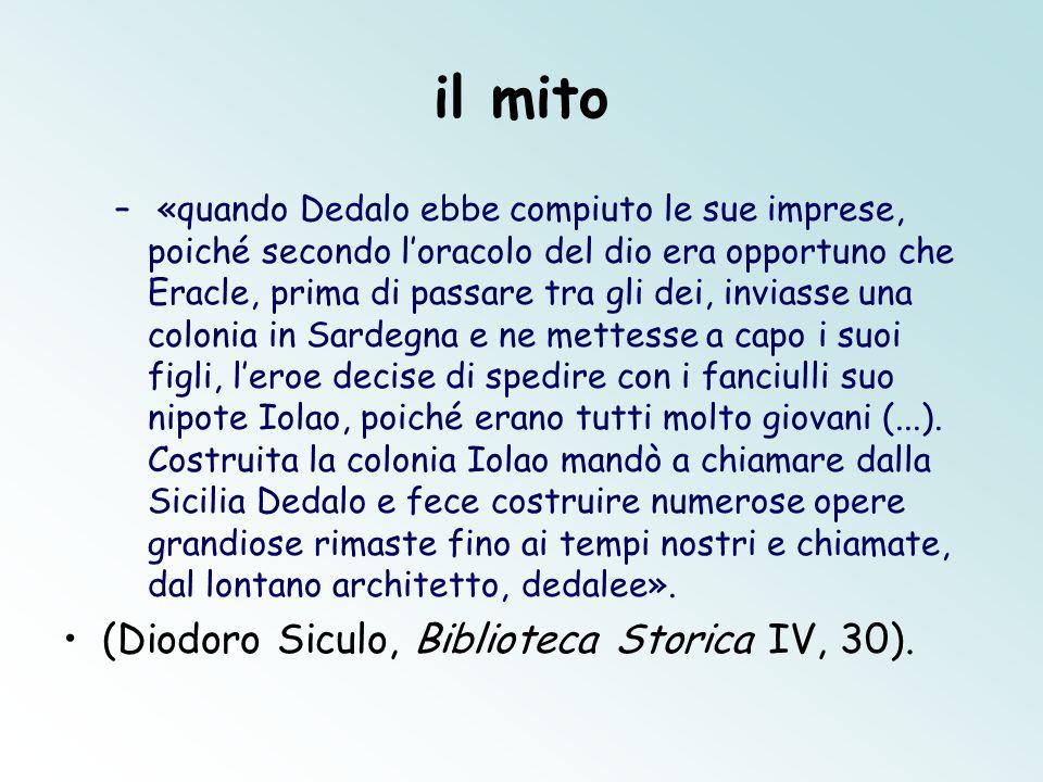 il mito (Diodoro Siculo, Biblioteca Storica IV, 30).