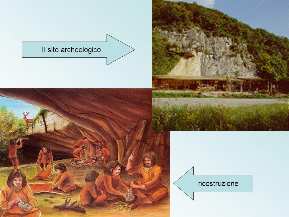 Il sito archeologico ricostruzione