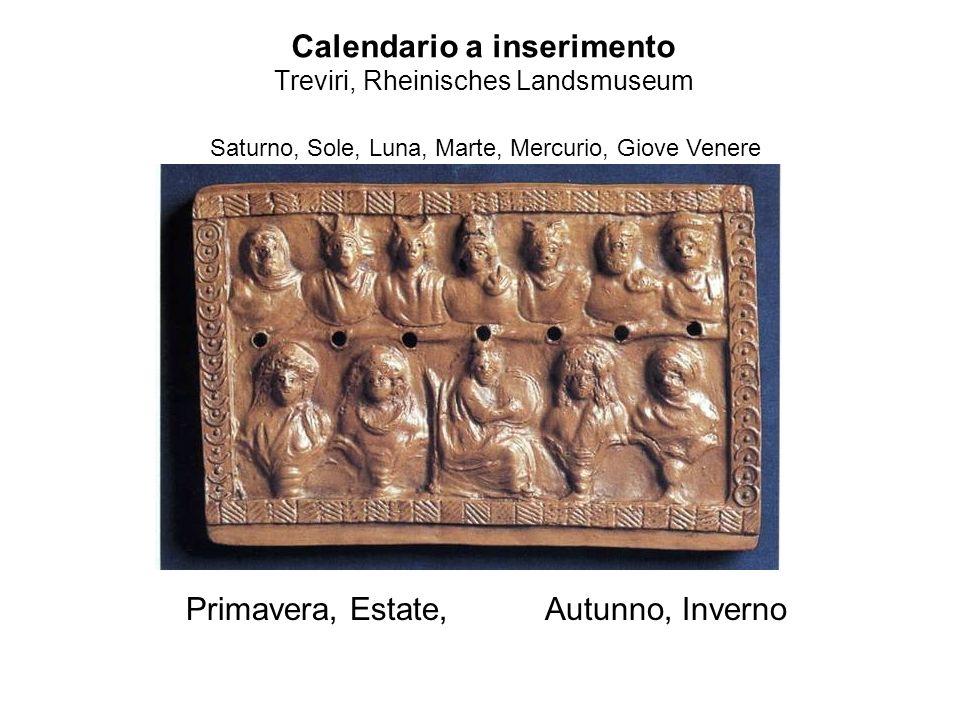 Calendario a inserimento Treviri, Rheinisches Landsmuseum
