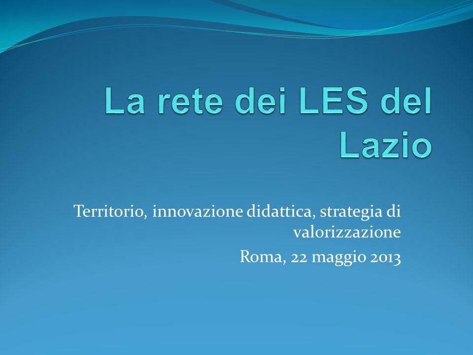 La rete dei LES del Lazio