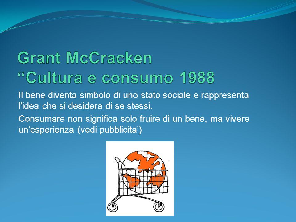 Grant McCracken Cultura e consumo 1988