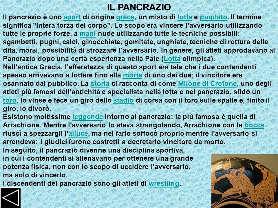 IL PANCRAZIO
